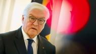 Bundespräsident Steinmeier sucht den Dialog mit den Parteien – darunter auch den Linken.