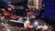 """Der Breitscheidplatz nach dem Anschlag: """"Die Menschen wurden eben nicht betreut, sondern zurückgewiesen"""", sagt Kurt Beck"""