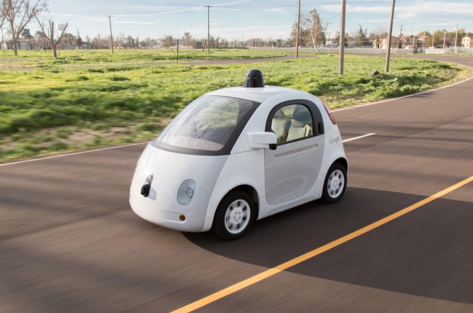 Prototyp des selbstfahrenden Autos von Google