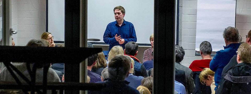 Gegenspieler der Parteispitze: Juso-Vorsitzender Kevin Kühnert