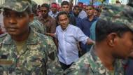 Aufruhr gegen Autokraten: Präsident der Malediven Abdulla Yameen