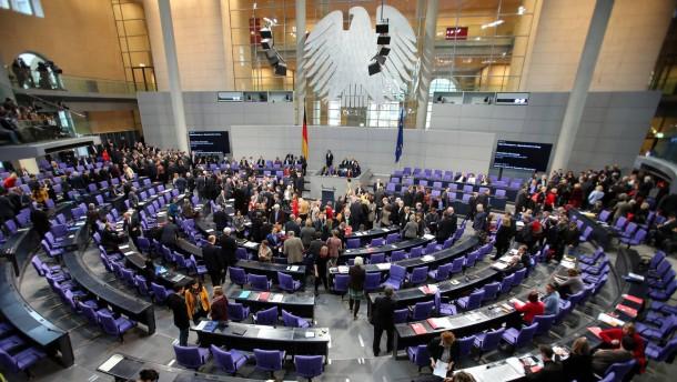 Bundestag beschließt Diätenerhöhung