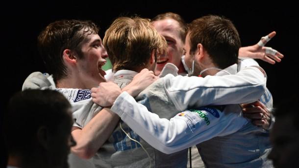 Deutsche Florett-Herren sind Europameister