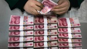 China will die Kapitalausfuhr stark beschränken