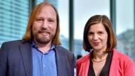 Im Amt bestätigt: Die Grünen-Fraktionsvorsitzenden Katrin Göring-Eckardt und Anton Hofreiter