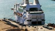 Wirtschaftsfaktor Handel: Der Hafen von Barcelona