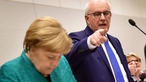 Seehofer: SPD hätte ohne Finanzministerium nicht zugestimmt