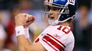 New York Giants gewinnen die Super Bowl