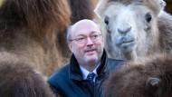 Tierfreund: Manfred Niekisch bei seinem Amtsantritt im Jahr 2008