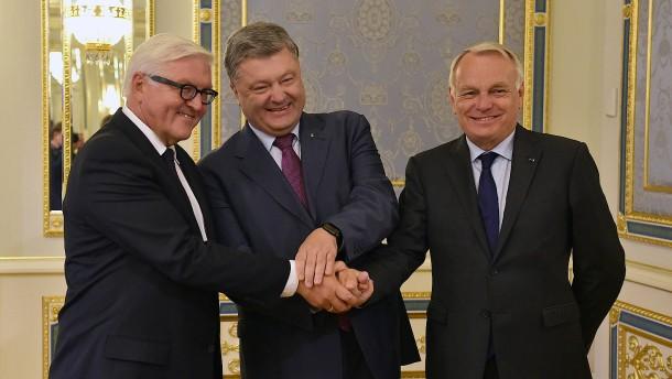 Neue Waffenruhe für Ukraine vereinbart