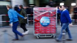 Abstimmungsbriefe in SPD-Zentrale eingetroffen