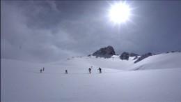 Skifahren in Afghanistan