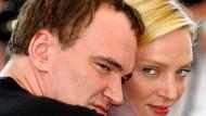 Mittlerweile ist wieder alles okay: Quentin Tarantino und Uma Thurman