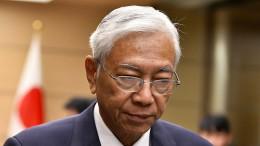 Burmas Präsident tritt überraschend zurück