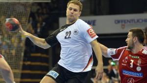 Handball-Nationalspieler Kraus suspendiert