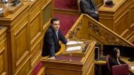 Alex Tsipras könnte als Befreier der griechischen Finanzpolitik in die Geschichte seines Landes eingehen.