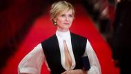 Die amerikanische Schauspielerin Cynthia Nixon bei den Filmfestspielen in Berlin