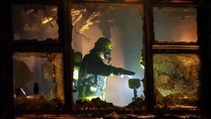 Polizei ermittelt nach Kita-Brand wegen schwerer Brandstiftung