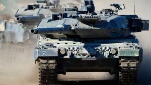 CDU-Politiker fordert mehr Panzer