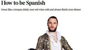 Spanien empört sich über einen ironischen Text