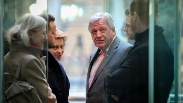SPD und Union rechnen mit Nachtsitzung