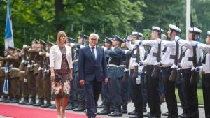 Bundespräsident Steinmeier: Geschichte darf keine Waffe sein