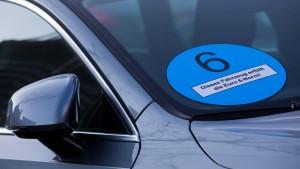 Blaue Plakette für Dieselautos ist noch nicht vom Tisch
