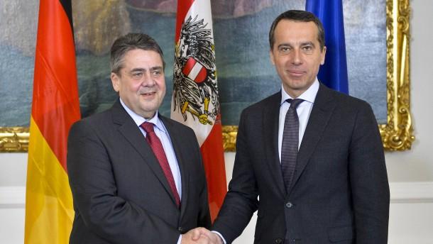 Österreich fordert EU-Wahlkampfverbot für türkische Politiker