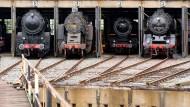 Neue Heimat: Um den Hanauer Lokschuppen zu erhalten, soll eine geplante Bahnüberführung verlegt werden.