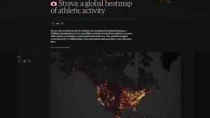 Fitness-App verrät geheime Militärstandorte