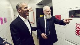Müssen Sie nicht gleich zurück ins Oval Office?