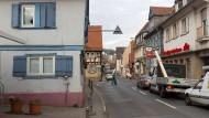 Pittoresk, aber eng: Der Ortskern von Seckbach
