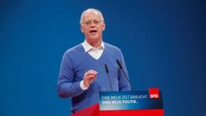 """Scharping nennt Neuwahlen """"lebensgefährliches Risiko für SPD"""""""