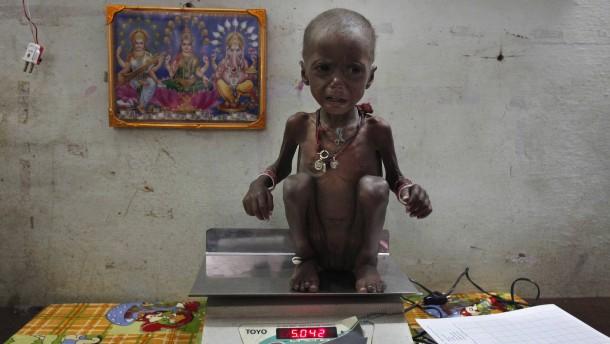 Hunger im Herzen Indiens
