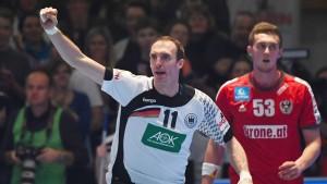 Deutsche Handballer werfen sich für WM warm