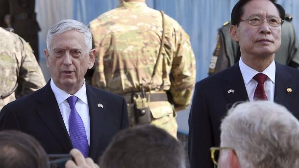 Mattis warnt Nordkorea vor Einsatz von Atomwaffen