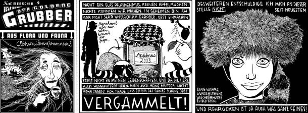 Comic / Kat Menschik / Der goldene Grubber / 009