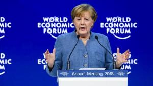 Was die Kanzlerin dem Protektionismus entgegensetzen will