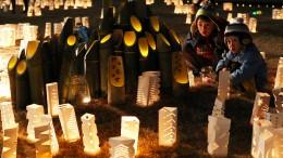 Japan gedenkt Opfern von Fukushima