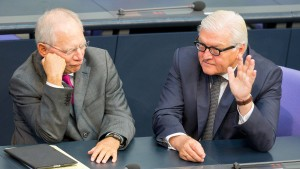 """Schäuble kritisiert Einigung auf Steinmeier als """"Niederlage"""""""