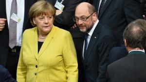 Machen Union und SPD im Januar die Groko fest?