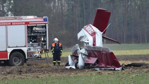 Zwei Tote bei Absturz von Ultraleichtflugzeug