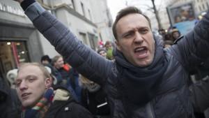 Kremlkritiker Nawalny festgenommen