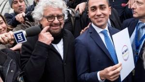 """Grillo sagt zum Abschied leise """"Ciao"""""""