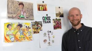 Skateboards und Fußbälle für Ruanda