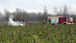 Vier Tote bei Zusammenstoß von Kleinflugzeug und Hubschrauber