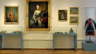 Neue Farben in den Ausstellungsräumen des Schlossmuseums in Darmstadt