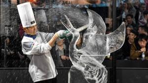 Eis-Weltmeisterschaft ohne Italien – aber mit Kettensägen