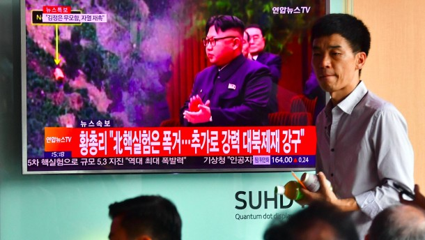 Brief Nach Nordkorea : Nach atomtest un sicherheitsrat kündigt neue sanktionen