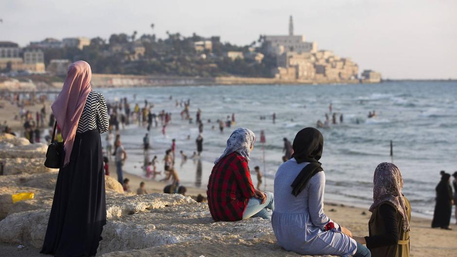 Blick auf die Altstadt von Jaffa, das heute zu Tel Aviv gehört